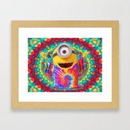 Minion Peace Framed Art Print