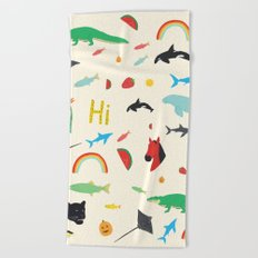 All Together Beach Towel