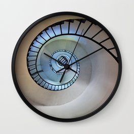 Spiral staircase Wall Clock