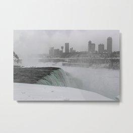 American Falls, Canadian City Metal Print