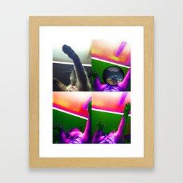 Ceiling Inspector Framed Art Print