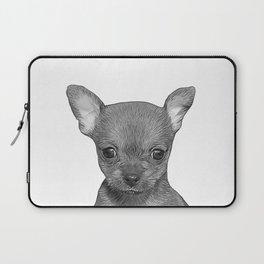 puppy b&w Laptop Sleeve