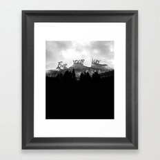 Wisdom of Nature Framed Art Print