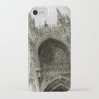 takmaj iPhone & iPod Cases featuring Rouen facade by takmaj