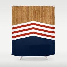 Vintage Rower Ver. 3 Shower Curtain