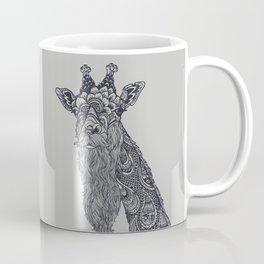 Giraffe Movember Coffee Mug