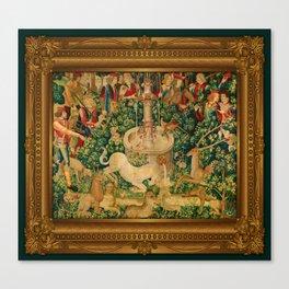 The Unicorn is Found Canvas Print