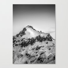 Snow Peak Canvas Print