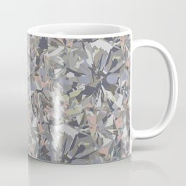 Facet Grey Coffee Mug