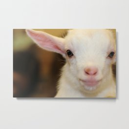 Acting The Goat Metal Print