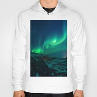 aurora Hoodies featuring Aurora by StayWild