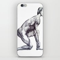runner iPhone & iPod Skins featuring Runner by Eugene G