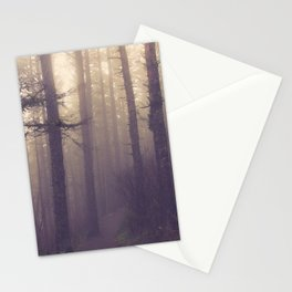 fog lifts Stationery Cards