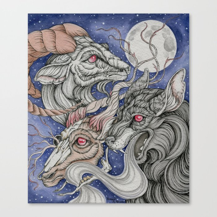 Wolfram and Hart Canvas Print