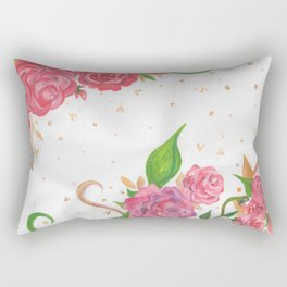Lovely Roses Rectangular Pillow