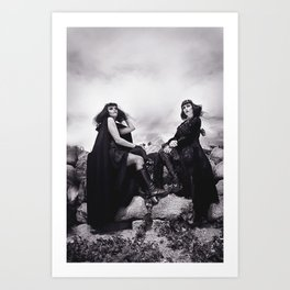 Black Witches Sabbath II  Art Print