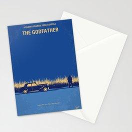 No686-1 My Godfather I minimal movie poster Stationery Cards