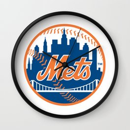 New Yorks Mets Wall Clock