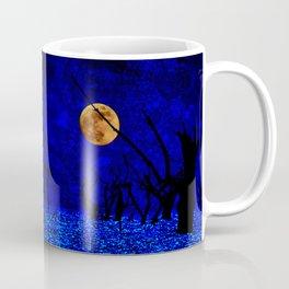 Under the Full Moon the Dead Trees Dance  Coffee Mug