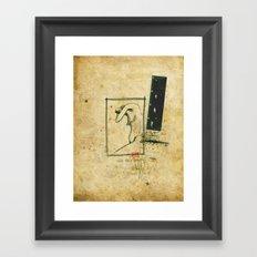 Percorso Framed Art Print