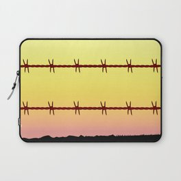 Mexico Border Barbe Wire Fence Laptop Sleeve