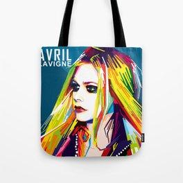 WPAP Avril Lavigne Tote Bag