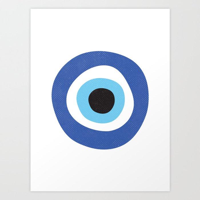 Evi Eye Symbol Kunstdrucke