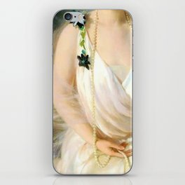 Portrait of Agnes Marsh iPhone Skin