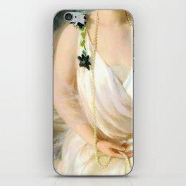 Portrait of Agnes Marsh iPhone Skin