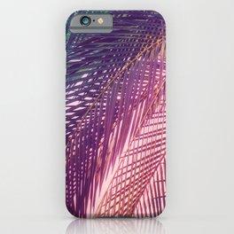 Indian Summer Boho Palm Leaves iPhone Case