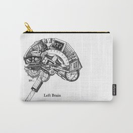 Left Brain Carry-All Pouch