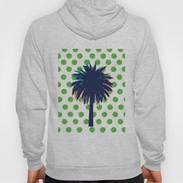 Palm Tree Polkadots Hoody