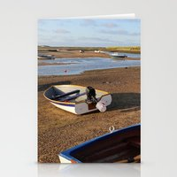 rowing Stationery Cards featuring Rowing Boats by Jude NH
