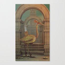 Mechanical bird Canvas Print