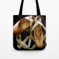 ballet Tote Bags featuring Ballet by Müge Başak