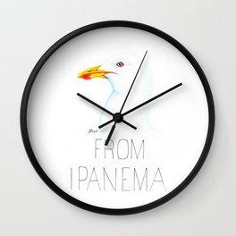 Gull From Ipanema (Kelp Gull) Wall Clock