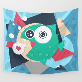 Puffy Wall Tapestry