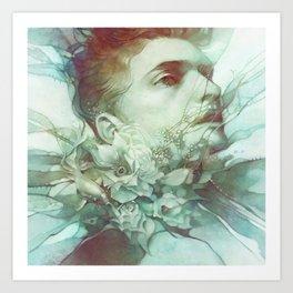 Bramble Art Print