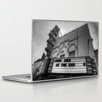 jfk Laptop & iPad Skins featuring The Texas Theatre by Mark Alder