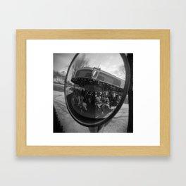 Merry Framed Art Print