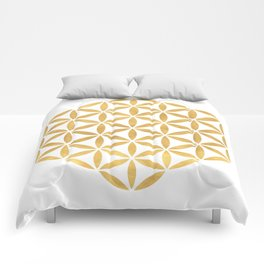FLOWER OF LIFE sacred geometry Comforters