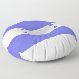 Honduras flag Floor Pillow