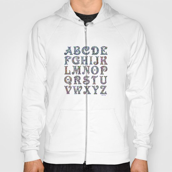 The Alphabet Hoody