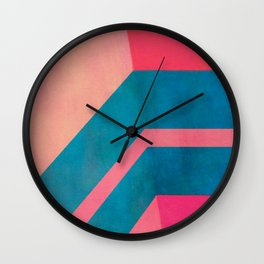 Direction Change 6 Wall Clock