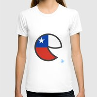 chile T-shirts featuring Chile Smile by onejyoo