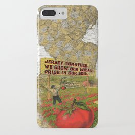 Jersey Tomatoes, We Grow our Pride iPhone Case