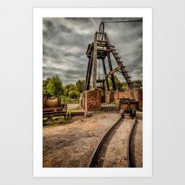 Victorian Mine Art Print