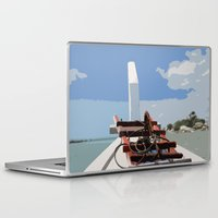 bow Laptop & iPad Skins featuring Bow by Sony Purba