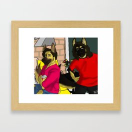 The Fischbach brothers Framed Art Print