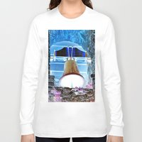 tinker bell Long Sleeve T-shirts featuring bell by  Agostino Lo Coco